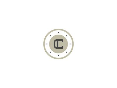 C Monogram illustration icon monogram c