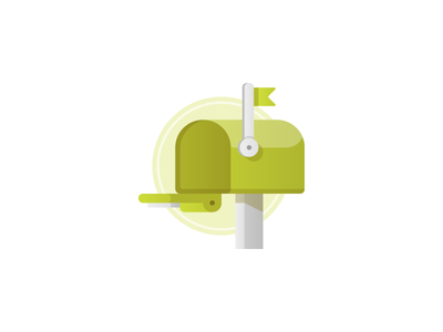 Mailbox Invite invitation invite mail illustration icon mailbox