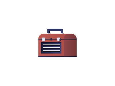 Toolbox Icon hammer time tools toolbox illustration icon