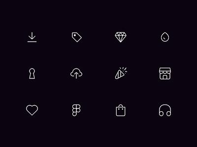 Icons - Keyicons Set ui framer protopie figma sketch icons set icons