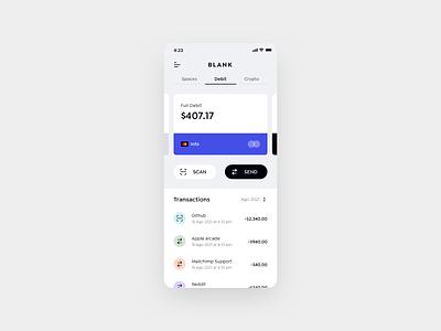 Bank App Concept money bank ios concept sketch app ui