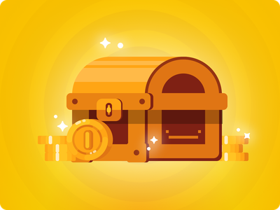 Loot loot coin credit rewards illustration sketch design app fintech