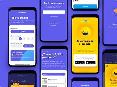 Mobile Screens 📱 game fintech app app sketch ui