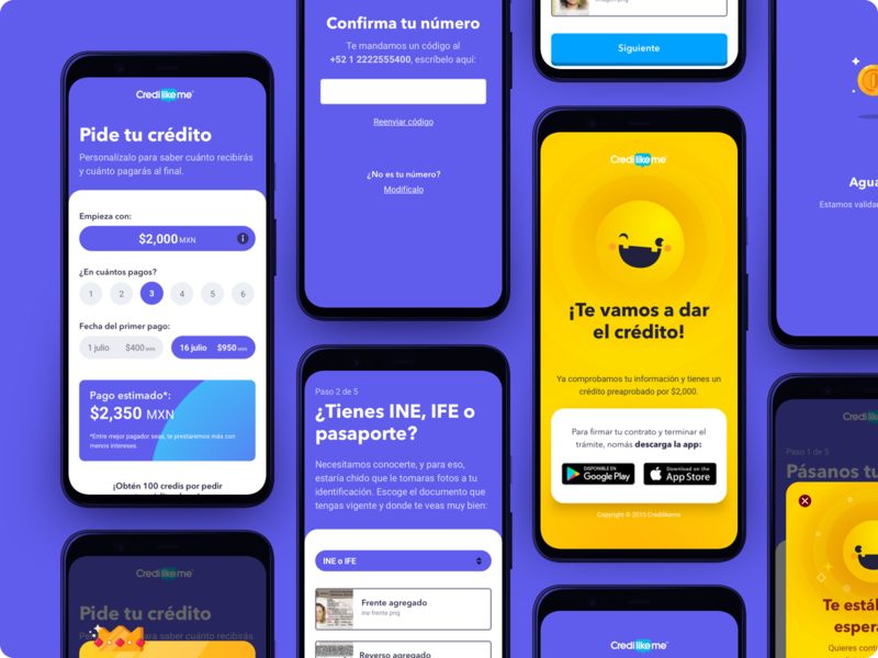 Mobile Screens 📱 game fintech app app sketch ui