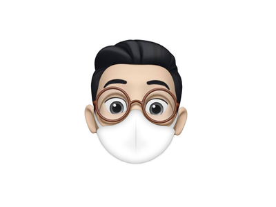 Corona Animoji design ios stayhome mask animoji corona coronavirus