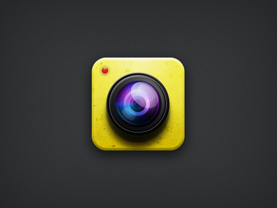 icon for Banana Camera banana camera icon ios yellow