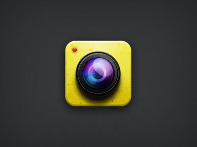 icon for Banana Camera banana camera icon ios yellow