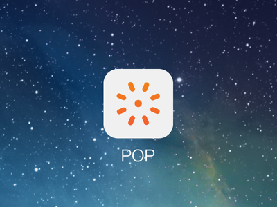 POP iOS7 icon ios ios7 flat icon