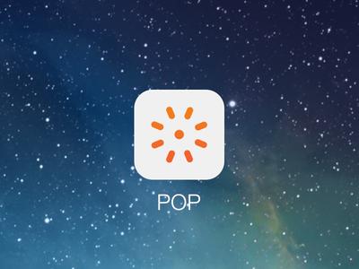 POP iOS7 icon ios ios7 flat icon