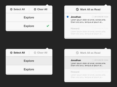 Status for the iPad pop ios ipad