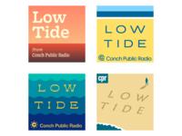 Flotsam and jetsam beach ocean typography logo podcast illustration