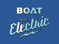 Boat Goes Electric