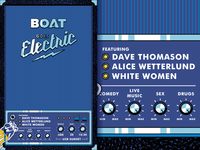 Boat Goes Electric poster