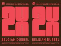 2X Belgian Dubbel