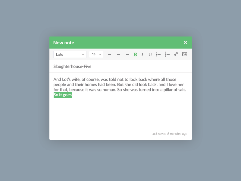 Rich Text Editor by Melissa Thomas on Dribbble
