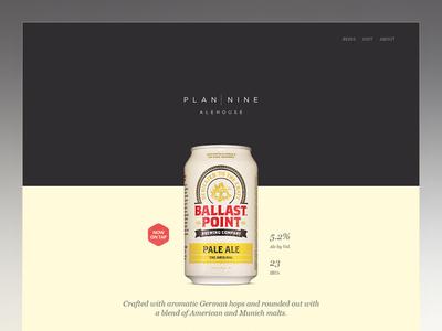 Plan 9 Ale House Web Site
