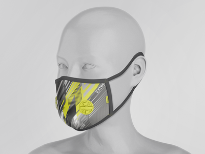 Face Respirator Mask Mock-Ups Vol.1 healthcare medical epidemic breathing dust protection apparel prevetion virus protection sport respirator mask