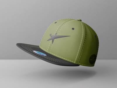 Snapback Baseball Cap Mock-Ups Vol.1 sportswear nba headdress headwear snapback visor mockup logo embroidery hat cap baseball