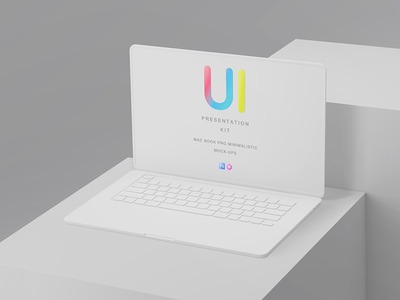Clay Responsive Devices Mock-Ups matte simple monitor keyboard clean minimalistic showcase apple application screen display interface temlate ipad pro macbook macpro responsive clay app uiux