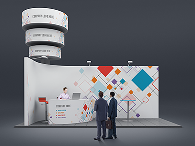 Exhibition Booth Mockup Free Download : Trade show booth mock ups by kheathrow graphics dribbble dribbble