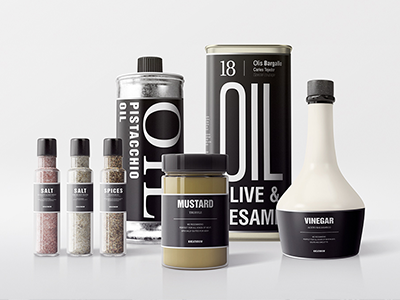 Seasonings Packaging Mock-Ups branding jar mustard olive oil showcase mockups psd mockup packaging food seasoning