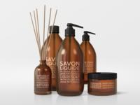 Natural Cosmetic Packaging Mock-Ups 3