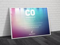 C0 Elegant Poster Frame Mock-Ups