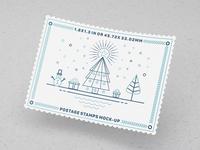 Postage Stamps Mock-Ups