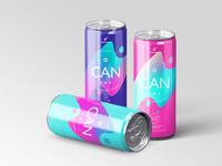 Energy / Soda Drink Can Packaging Mock-Ups Vol.1