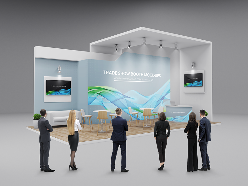 Expo Exhibition Stands Up : Trade show booth displays mock ups by kheathrow graphics