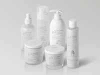 Natural Cosmetic Packaging Mock-Ups Vol.4
