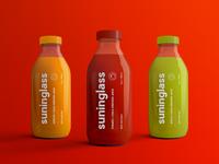 Juice Bottle Packaging Mock-Ups Vol.2