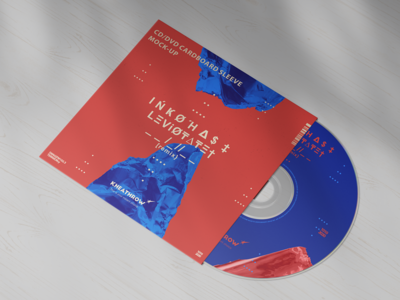 CD / DVD Cardstock Paper Sleeve Mock-Ups Vol.1