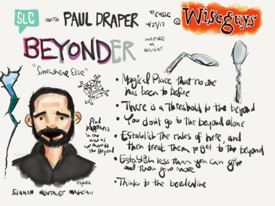 Paul Draper Creative Mornings Sketchnotes sketchnotes