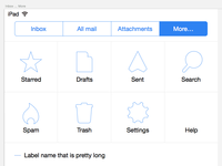 Remail Icons