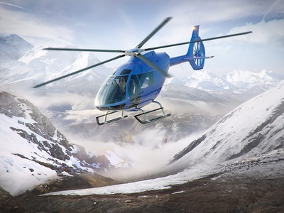 Helicopter Renders WIP