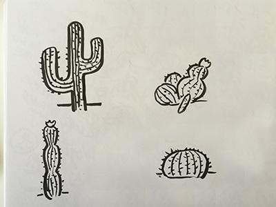 Cacti Doodles