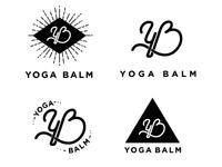 Yoga Balm Logo Lockups