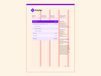 Polyfen — Letterhead grid