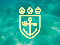 Key & Anchor — Heraldic Logo