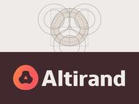 Altirand — Ideogram Grid & Logo Variation