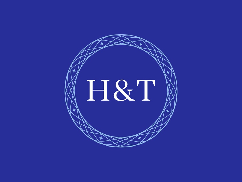 Health & Travel Alliance — Monogram Logo minimal luxury corporate alliance tourism health travel monogram typography design branding abstract geometric creative minimalist logo clean