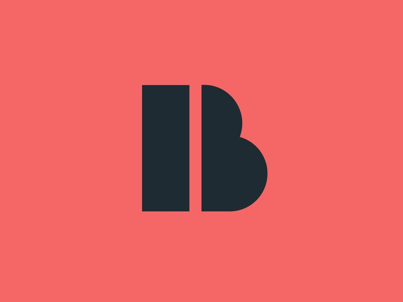 Boris Hrncic — Monogram Logo type brand typography b letter b monogram geometry lettering letter illustration design branding geometric creative minimalist logo clean