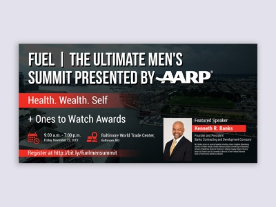 Ultimate Men s Summit eventbriter banner design aarp summit banners eventbrite graphics banner cover