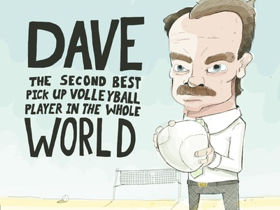 Dave: The Volleyball Player