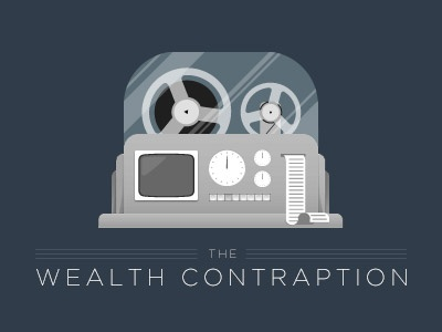 The Wealth Contraption logo vector contraption