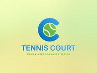 Tennis App/Website Logo Concept