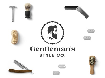 Gentleman's Style Logo Concept