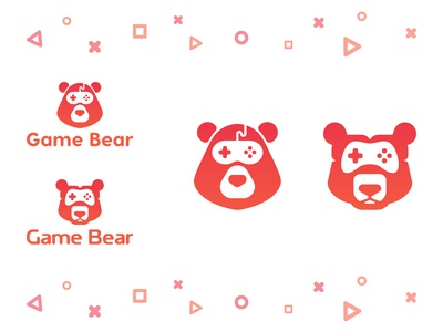 Game Bear Logo Concept