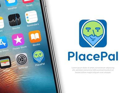 Navigation app logo concept